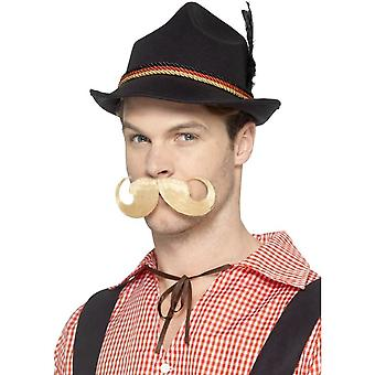 ديلوكس الألمانية Trenker قبعة سوداء، الريش ومرونة، أوكتوبرفيست يتوهم اللباس