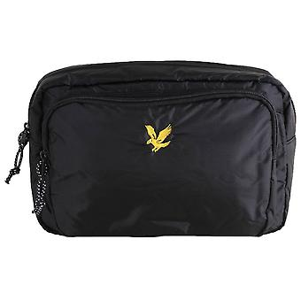 Lyle and Scott Wadded Side Bag - Black