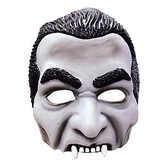 Bristol Novelty Unisex Adults Half Face Dracula Mask