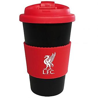 Liverpool Silicone Grip Travel Mug