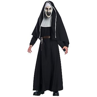 The Nun Deluxe Horror Movie Ghost The Conjuring Halloween Mens Costume & Mask
