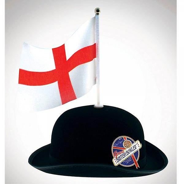 Union Jack Wear Great British Bowler With St George Flag