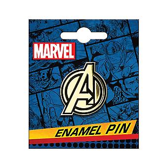 Avengers logo goud emaille pins