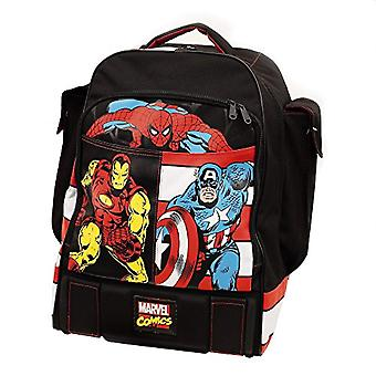Marvel Comics Backpack with Custom Graphics and Prints - Polyester - Black