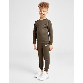 Nowy McKenzie Boys' Essential Crew Suit Khaki