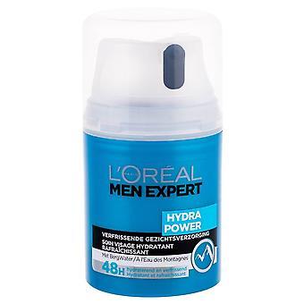 LOreal Uomini Expert Hydra Power Gel facciale 50ml