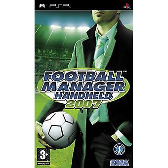 Football Manager 2007 (PSP)-fabriken förseglad