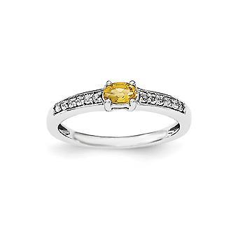 925 מתנות לנשים-גודל טבעת: 6 עד 8 שטרלינג סיטרין