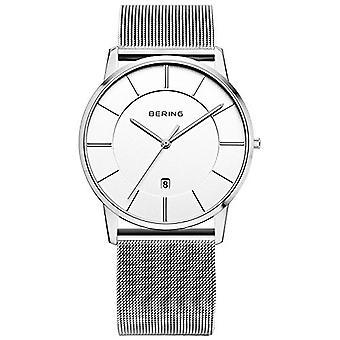 Bering Herren Uhr Armbanduhr Classic - 13139-000 Meshband