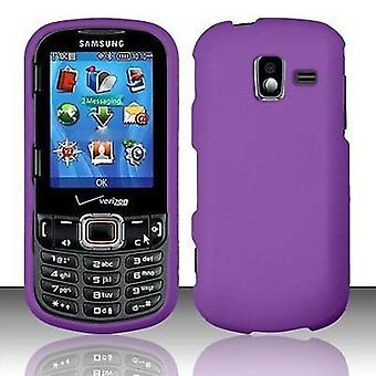 Verizon rubberized kotelo Samsung intensiteetti III U485-violetti