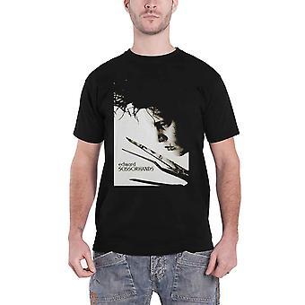 Edward Scissorhands T Shirt Scissors Portrait Logo new Official Mens Black