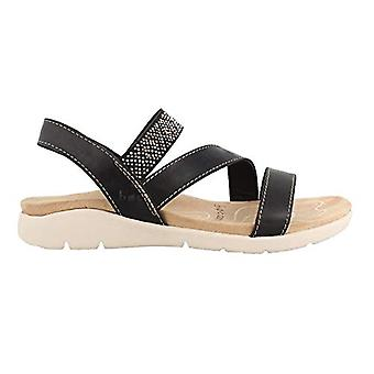 B.O.C Womens Sari Open Toe Casual Slide Sandals