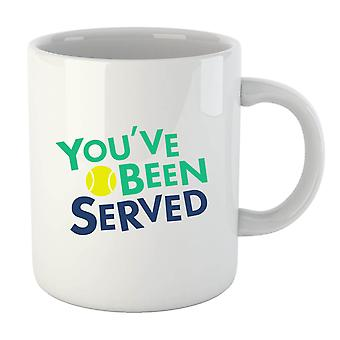 You've Been Served Mug