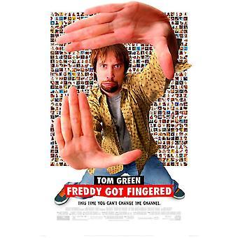 فريدي حصلت Fingered ملصق السينما الأصلي