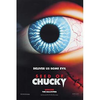 Samen von Chucky (Doppelseitige Vorschuss) Original Kino Poster