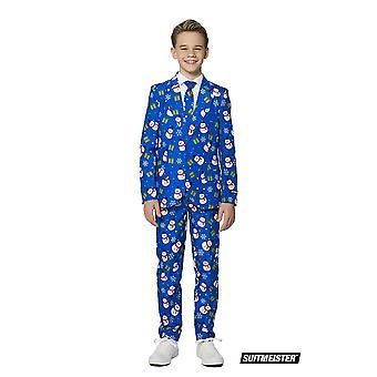 Christmas Christmas Snowman Kids Suit Suit SuitMaster Slimline Premium 3-pièces