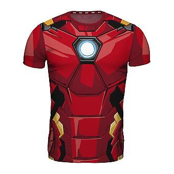 Marvel T-shirt allover print Iron man