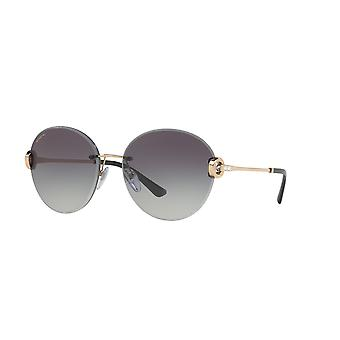 Bvlgari BV6091B 2014/8G Pink Gold/Grey Gradient Sunglasses