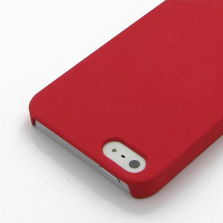Apple Iphone 4 4S Case Protection Matte Case Red