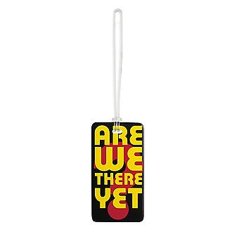 Lewis N. Clark Fashion Luggage Tag, Are We There Yet? #7453
