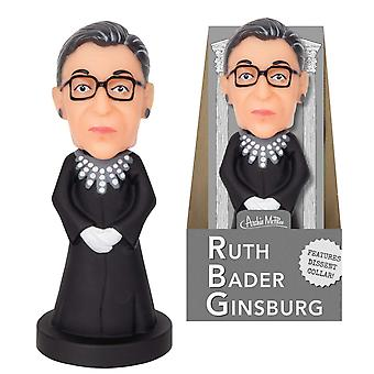 Action Figure - Archie McPhee - Ruth Bader Ginsburg Nodder New 12850