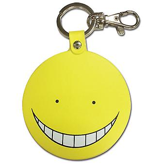 Key Chain - Assassination Classroom - Koro Sensei Normal YELLOW PU ge38591