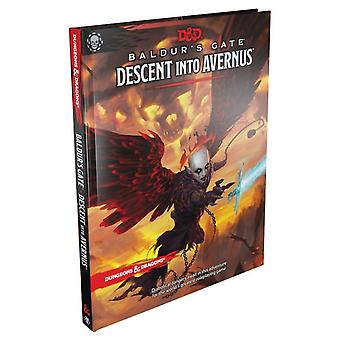 Dungeons & Dragons RPG Book - Baldur&s Gate Descent into Avernus
