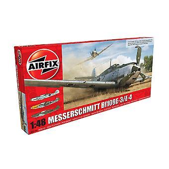 Airfix A05120B S5 Messerchmitt ME109E-4/E-1 1 1:48 Kit modelo de kit de avião em escala