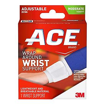 3m ace brand wrap around wrist moderate support, adjustable, 1 ea