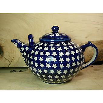 ceainicul, a doua alegere, 3000 ml, traditia-polacco ceramica-BSN 22970