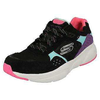 Ladies Skechers Lite - Weight Trainers Meridian No Worries 13020