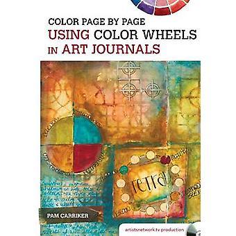 Färg sida för sida med hjälp av färg hjul i konsttidskrifter av pam carriker