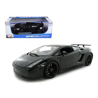 2007 Lamborghini Gallardo Superleggera Negro 1/18 Diecast Modelo Coche Por Maisto