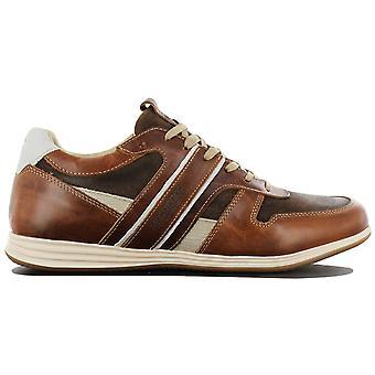 McGregor Williams MG9060181160 heren schoenen bruin sneakers sportschoenen