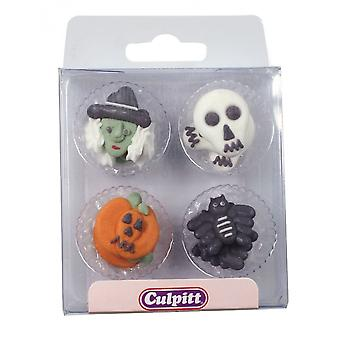 Culpitt verschiedene Halloween Zucker Rohre (Acetat-Box)