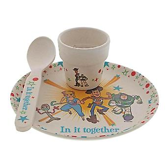 Toy Story 4 Ensemble Bamboo Egg Cup