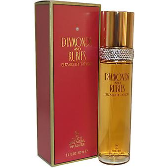 Elizabeth Taylor Diamonds & Rubies Eau de Toilette Spray 100ml
