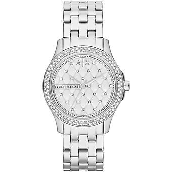 Armani Exchange AX5215 - Uhr Stahl-Kristalle, die leuchtende Frau