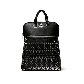 Desigual handväska/svart kvinnaryggsäck (Svart (NEGRO 2000)) 11x35.5x28 cm (B x H x T)