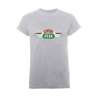Women's Friends Central Perk Rolled Sleeve T-Shirt