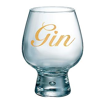 Durobor Fjord Individual Gin Glass, Gold