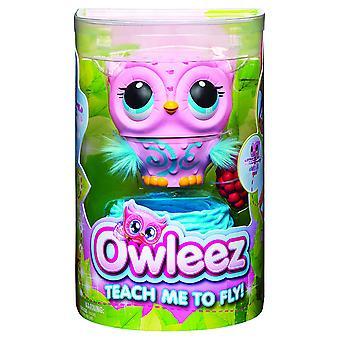 Owleez 6053359 تحلق طفل بومة التفاعلية لعبة الوردي