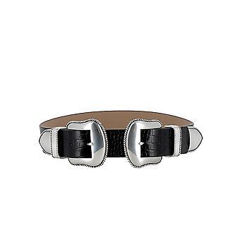 B-low Bæltet Bw362710le Women's Black Leather Belt