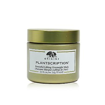 Origem Plantscription Powerful Lifting Overnight Mask - 75ml /2.5oz
