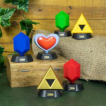 The Legend of Zelda 3D Collectible Mini Icon Lights LED Super Bright et Cool