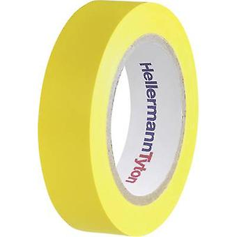 HellermannTyton HelaTape Flex 15 710-00102 Electrical tape HelaTape Flex 15 Yellow (L x W) 10 m x 15 mm 1 pc(s)
