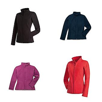 Stedman Womens/Ladies Active FZ Fleece