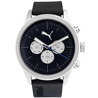 PUMA men's Quartz Watch with plastic Strap PU104281004