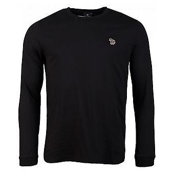 Paul Smith vanlig passform langermet t-skjorte