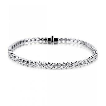 Diamond Bracelet Bracelet - 18K 750 White Gold - 2.23 ct.